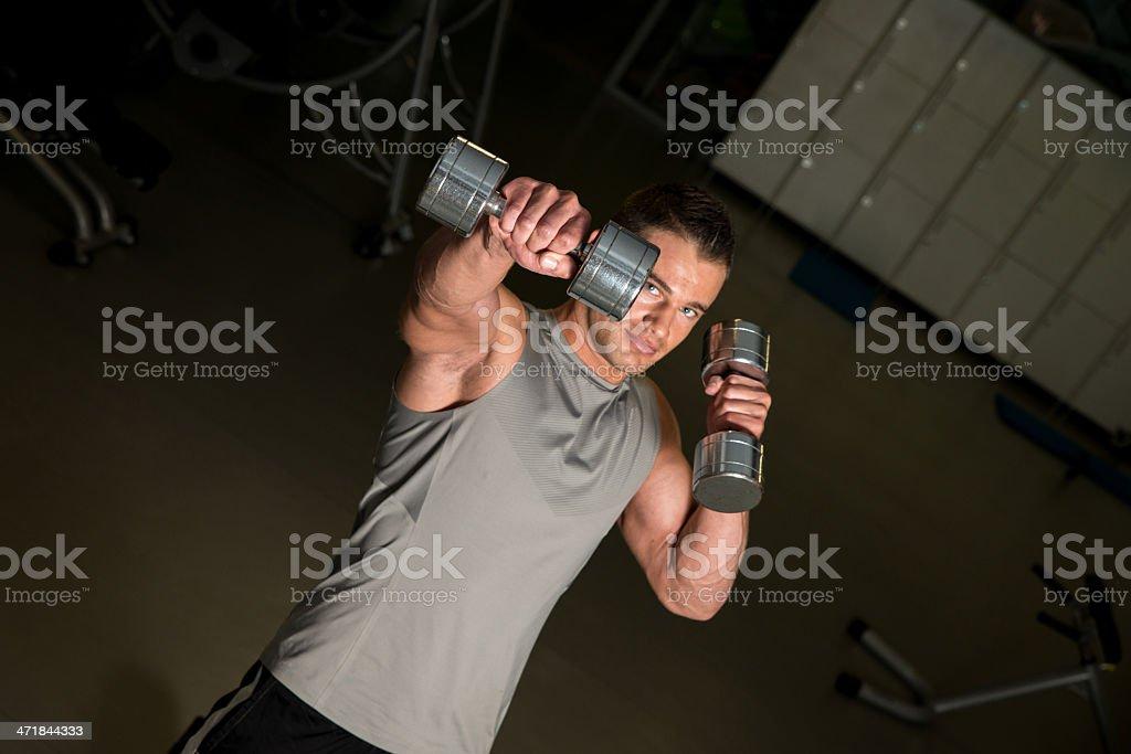 Healthy Exercising stock photo