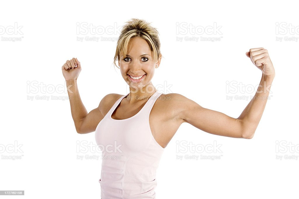 Healthy female royalty-free stock photo