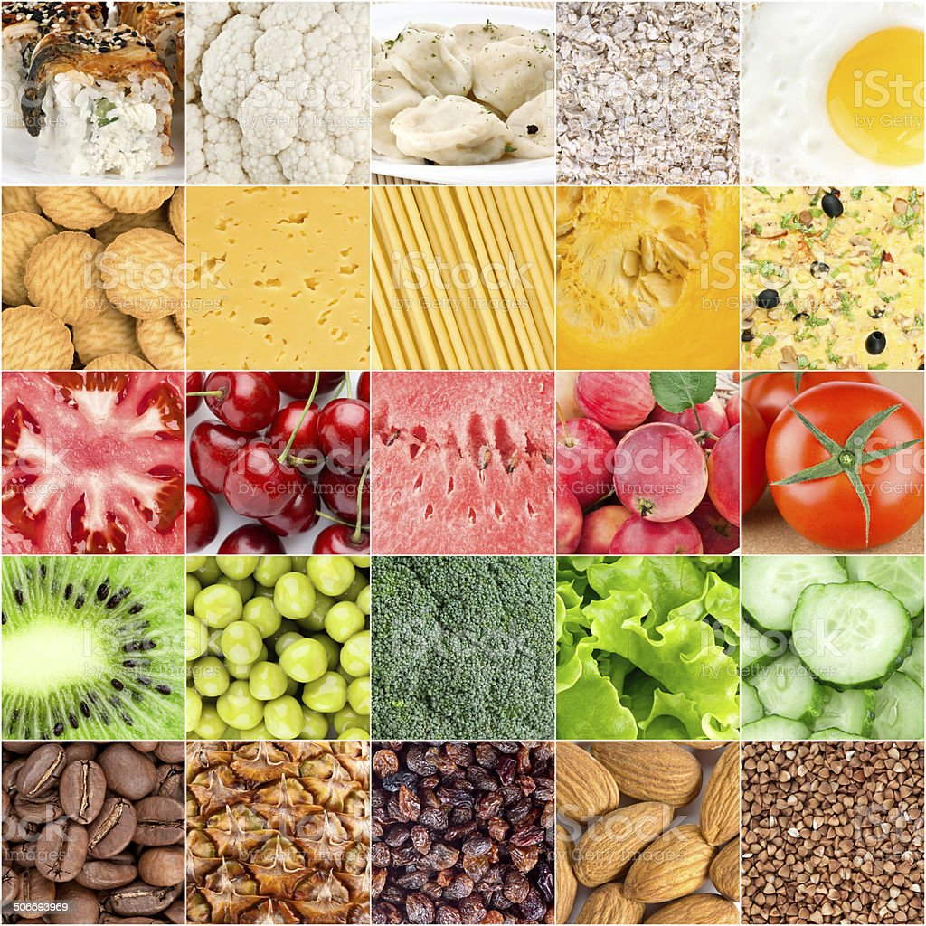 Healthy food backgrounds stock photo