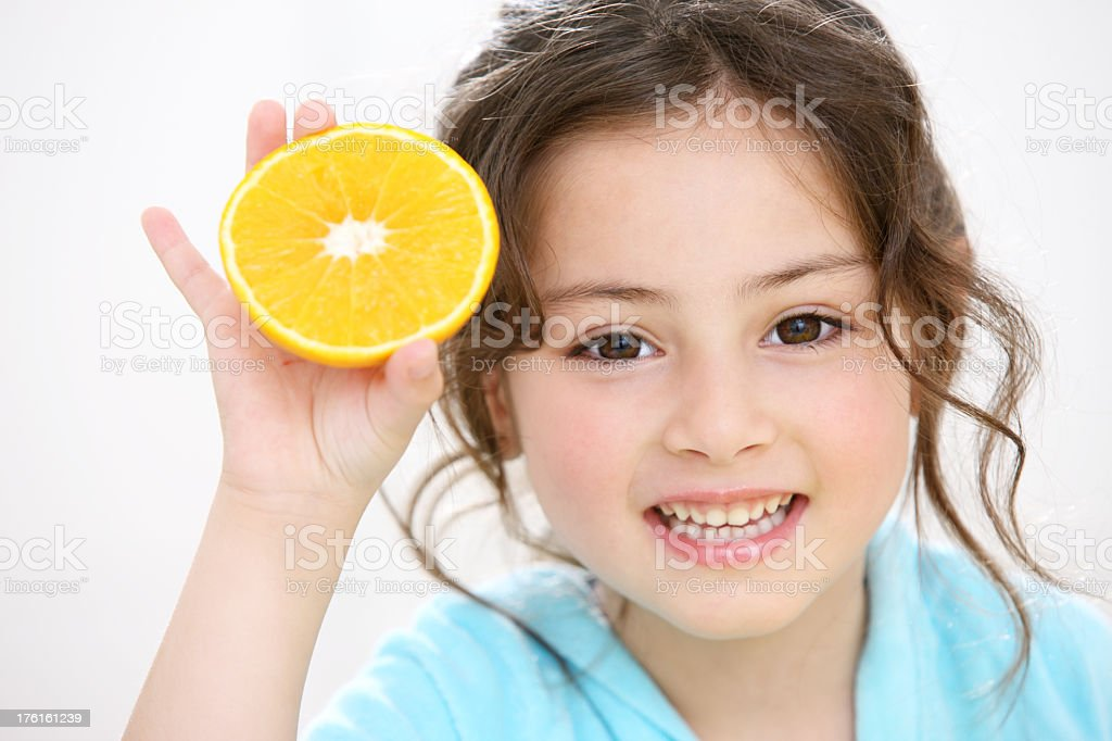 Healthy food choice for kids royalty-free stock photo