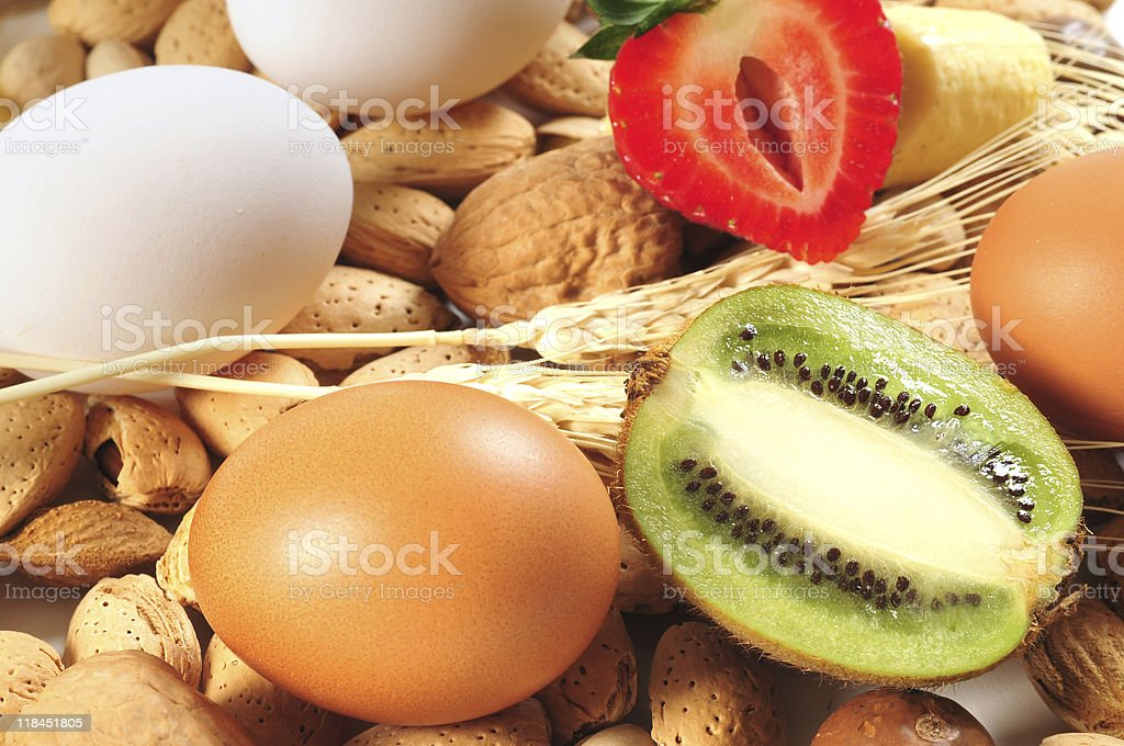 Healthy food. Concept of diet. stock photo