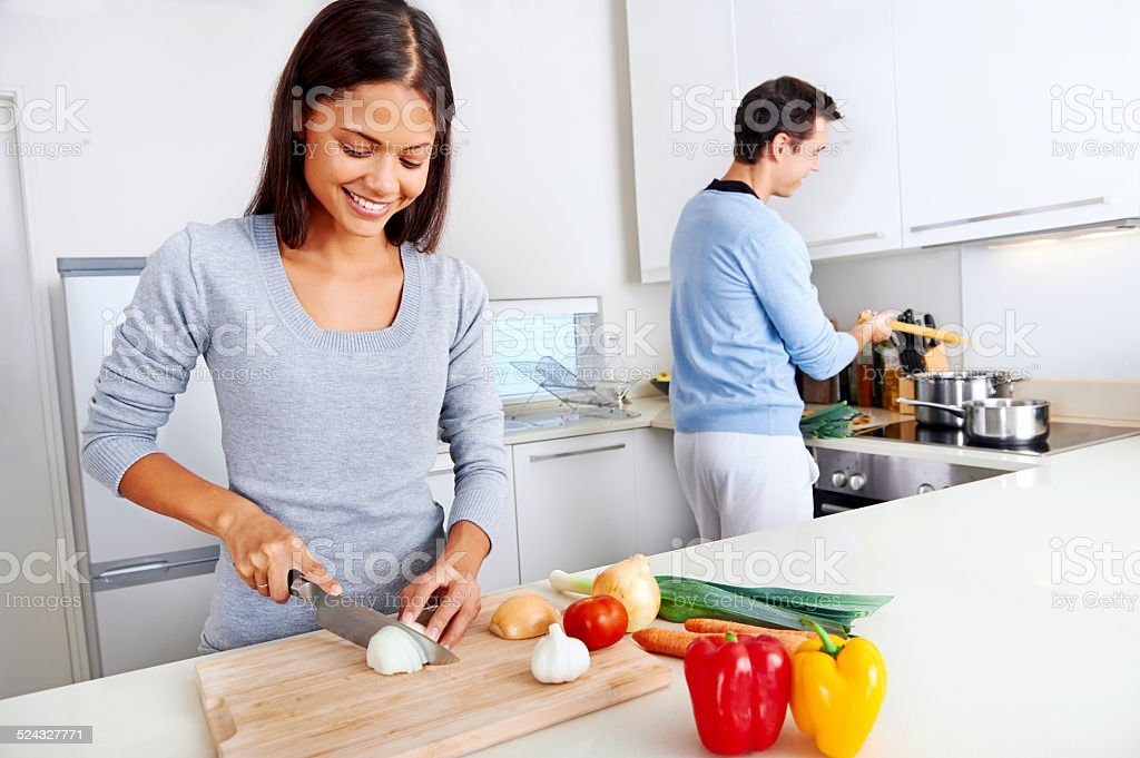 healthy food cook stock photo