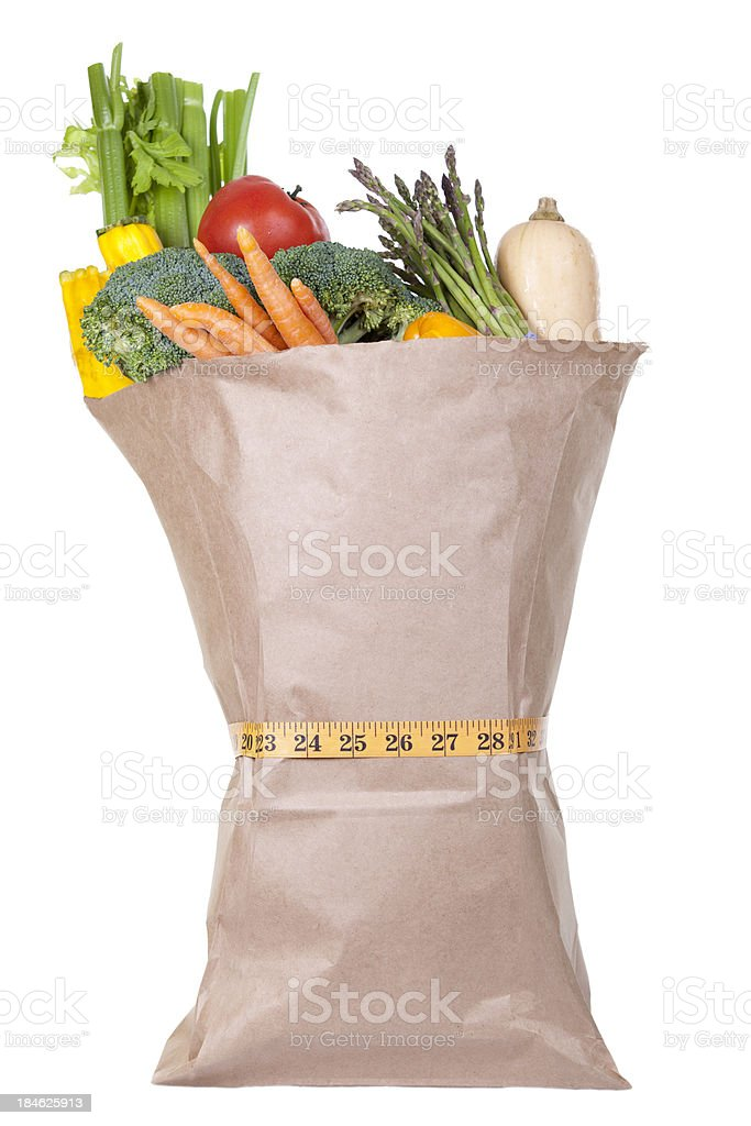 healthy food give You thin waist royalty-free stock photo