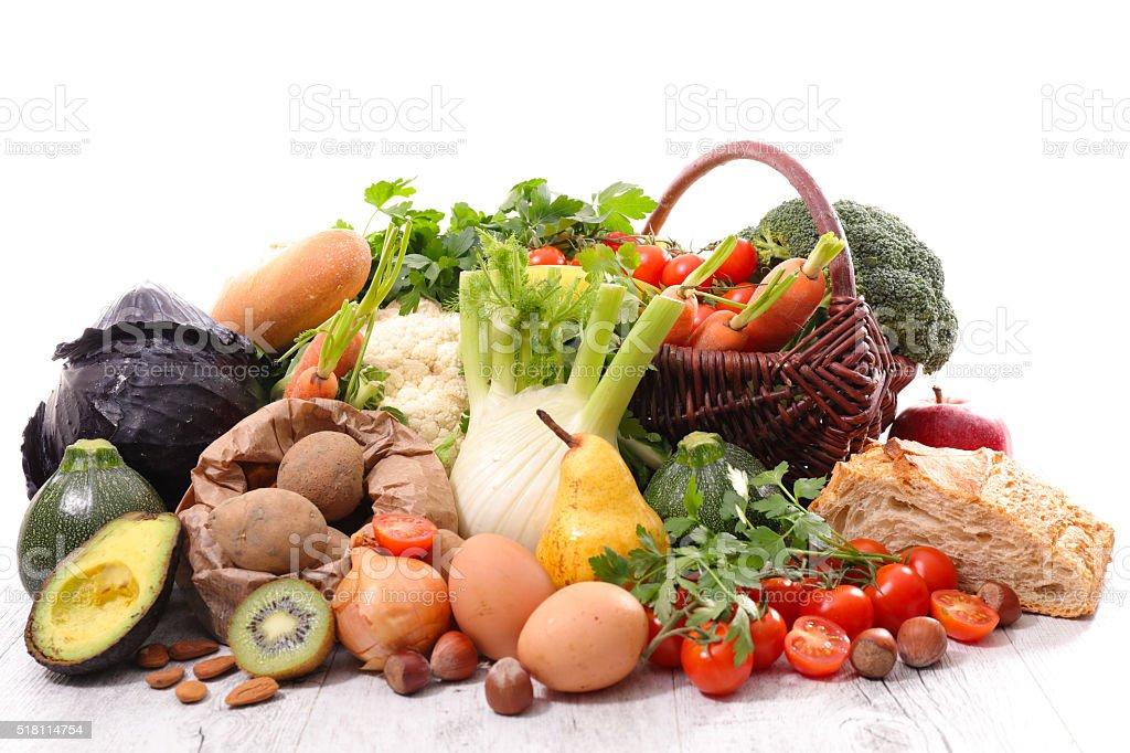 healthy food ingredient stock photo