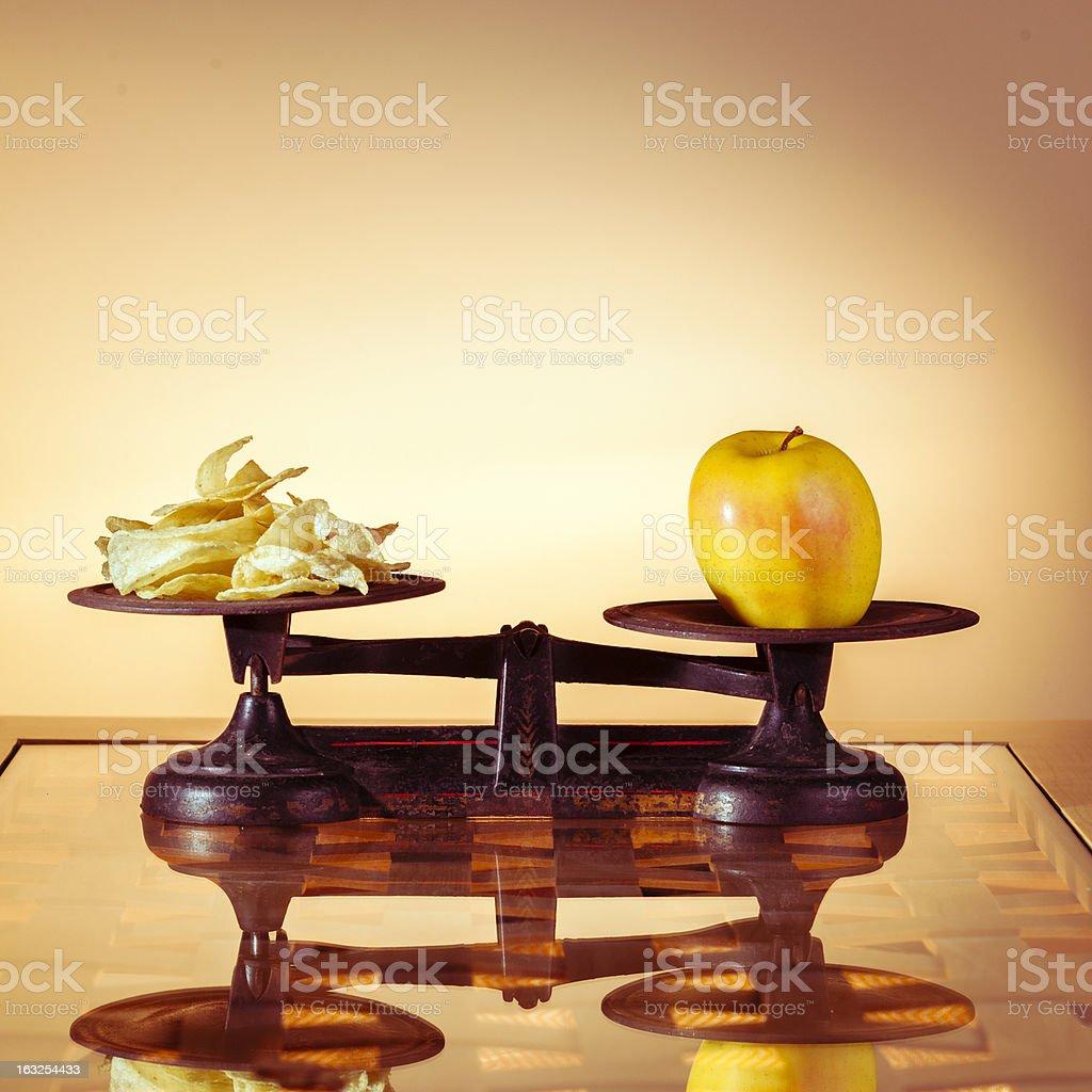 Healthy food royalty-free stock photo