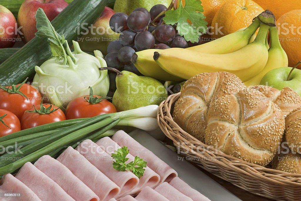 Здоровое питание Стоковые фото Стоковая фотография