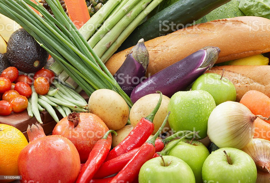 healthy foods background royalty-free stock photo