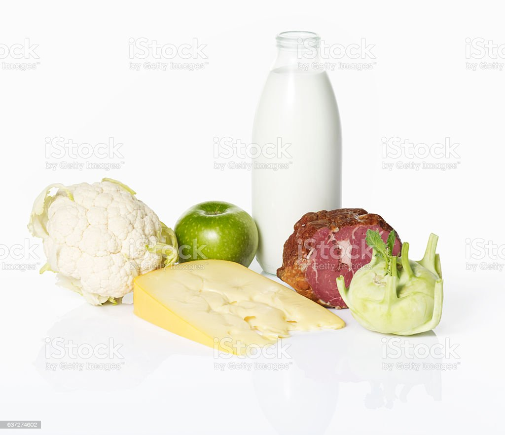 Healthy foods stock photo