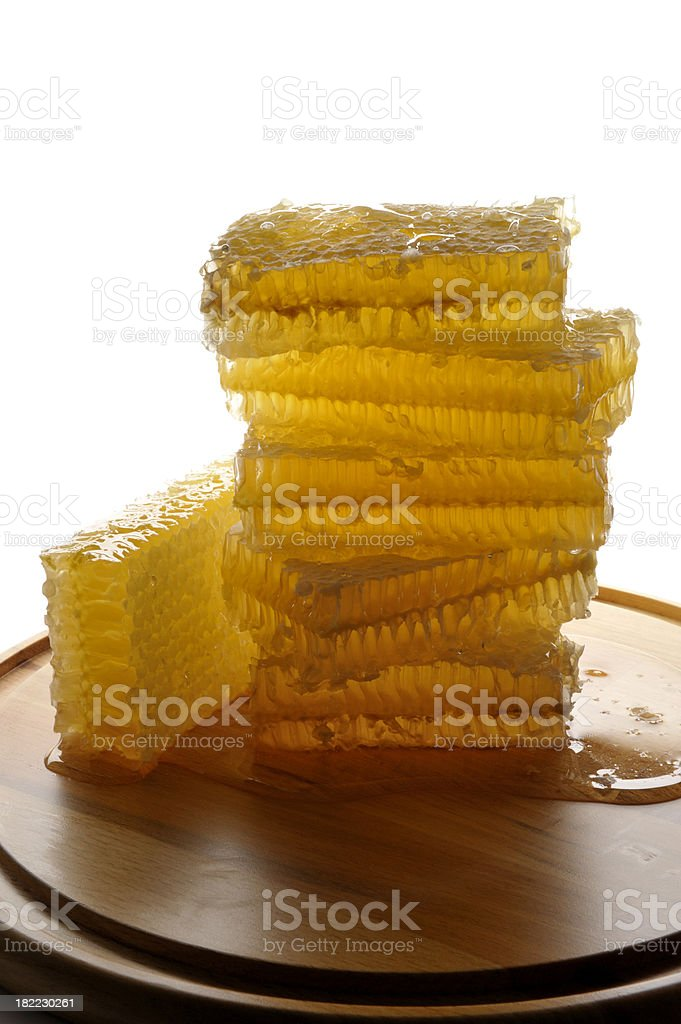 Healthy fresh honey stock photo