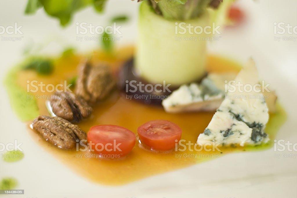 Healthy Fresh Mixed Greens Salad stock photo