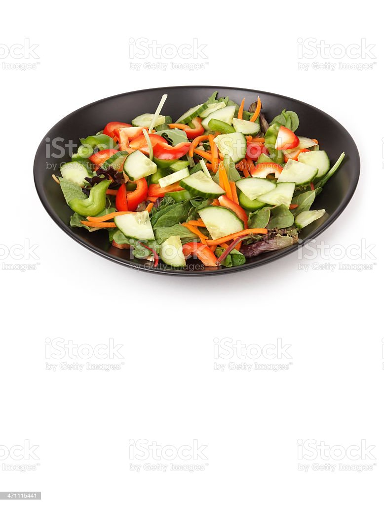 Healthy Fresh Salad royalty-free stock photo