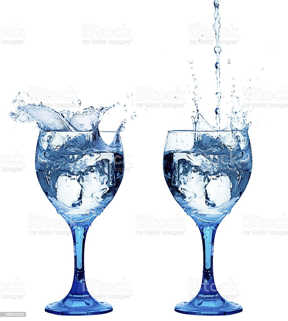 Healthy Fresh Water royalty-free stock photo
