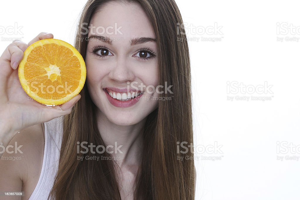healthy fruit for great complexion royalty-free stock photo
