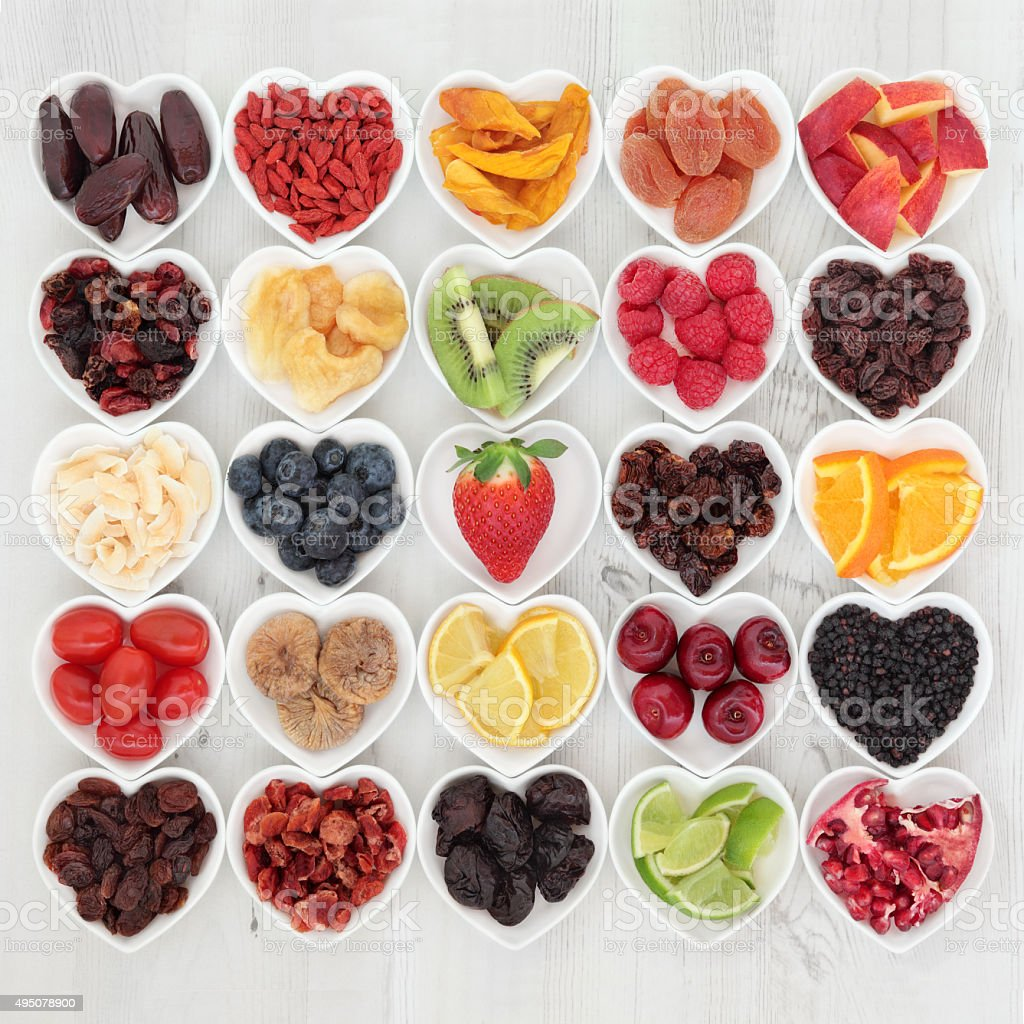 Healthy Fruit Superfood stock photo