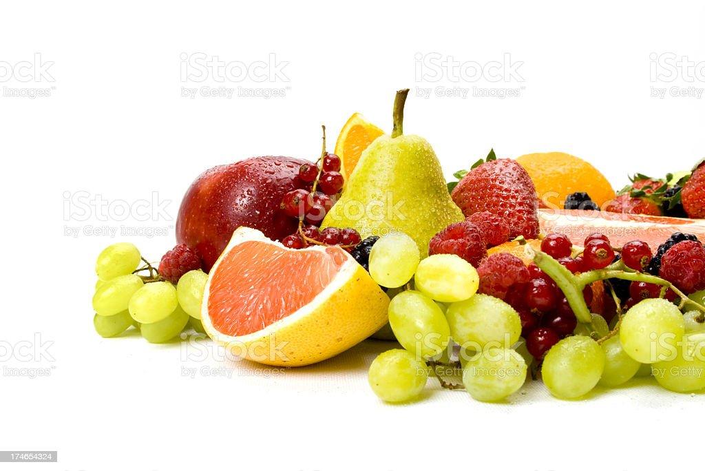 Healthy Fruits royalty-free stock photo