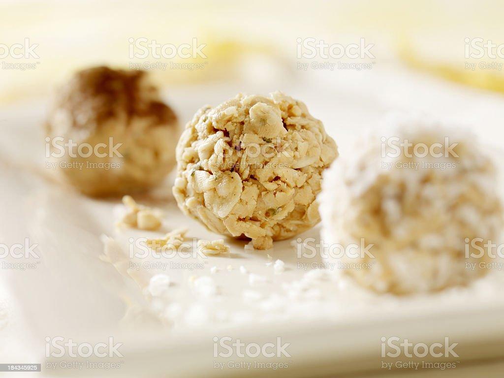 Healthy Granola Balls royalty-free stock photo