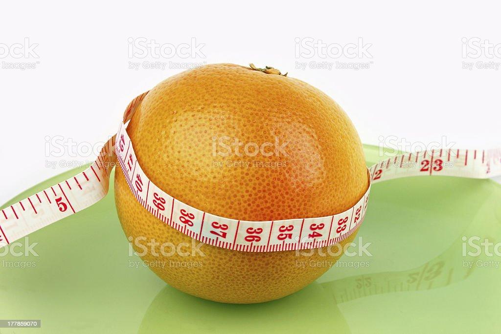Healthy Grapefruit royalty-free stock photo