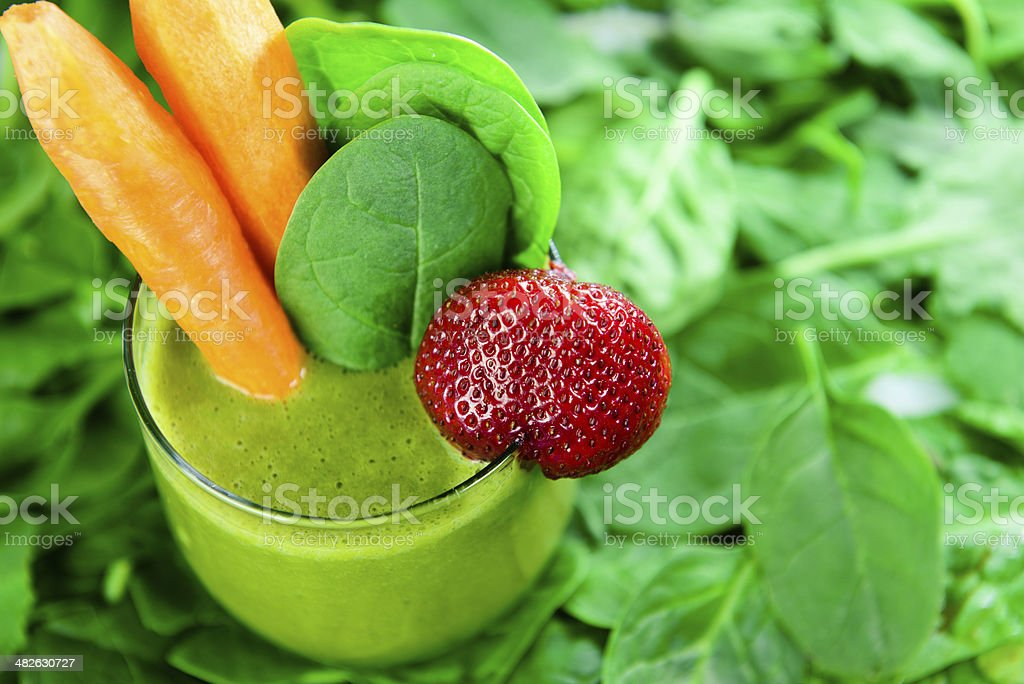 Healthy Green Drink stock photo