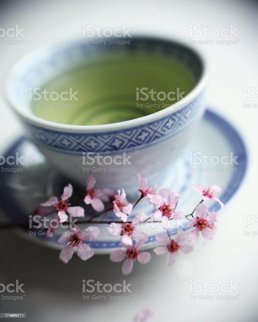 Healthy Green Tea royalty-free stock photo