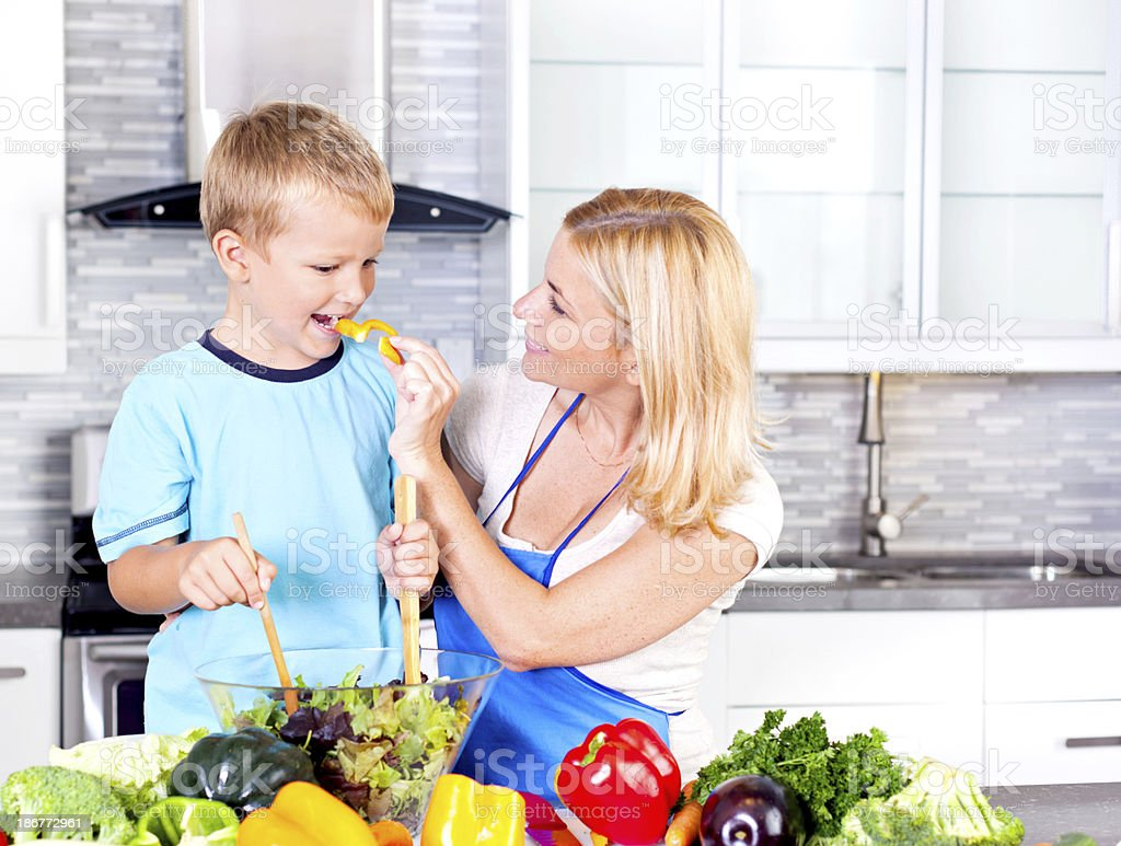 Healthy habits royalty-free stock photo