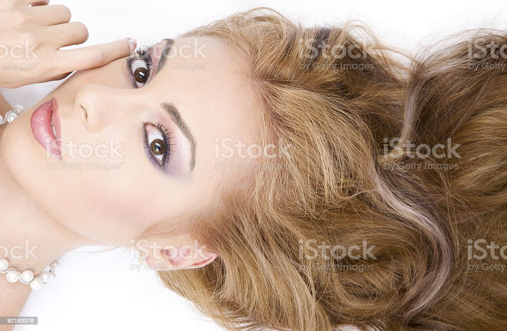 healthy hair royalty-free stock photo