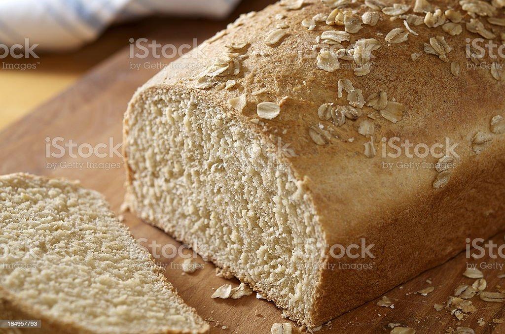 Healthy Homemade Bread royalty-free stock photo