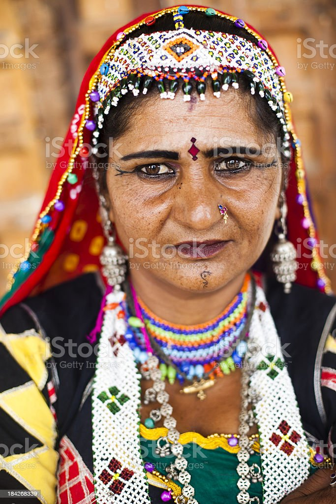 Healthy Indian Woman royalty-free stock photo