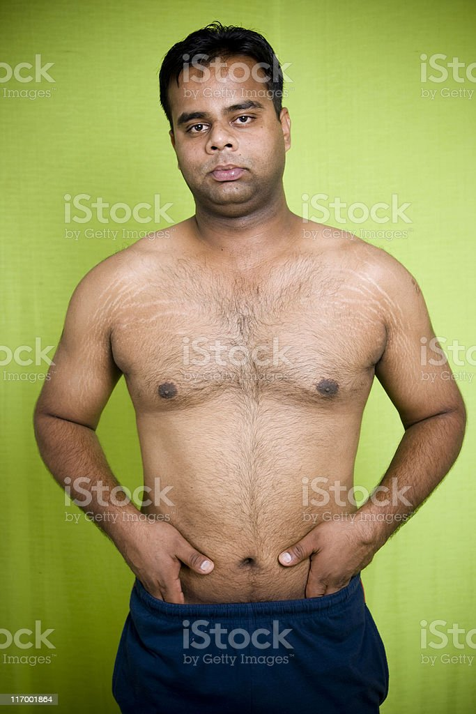 Healthy Indian Young Male Adult royalty-free stock photo
