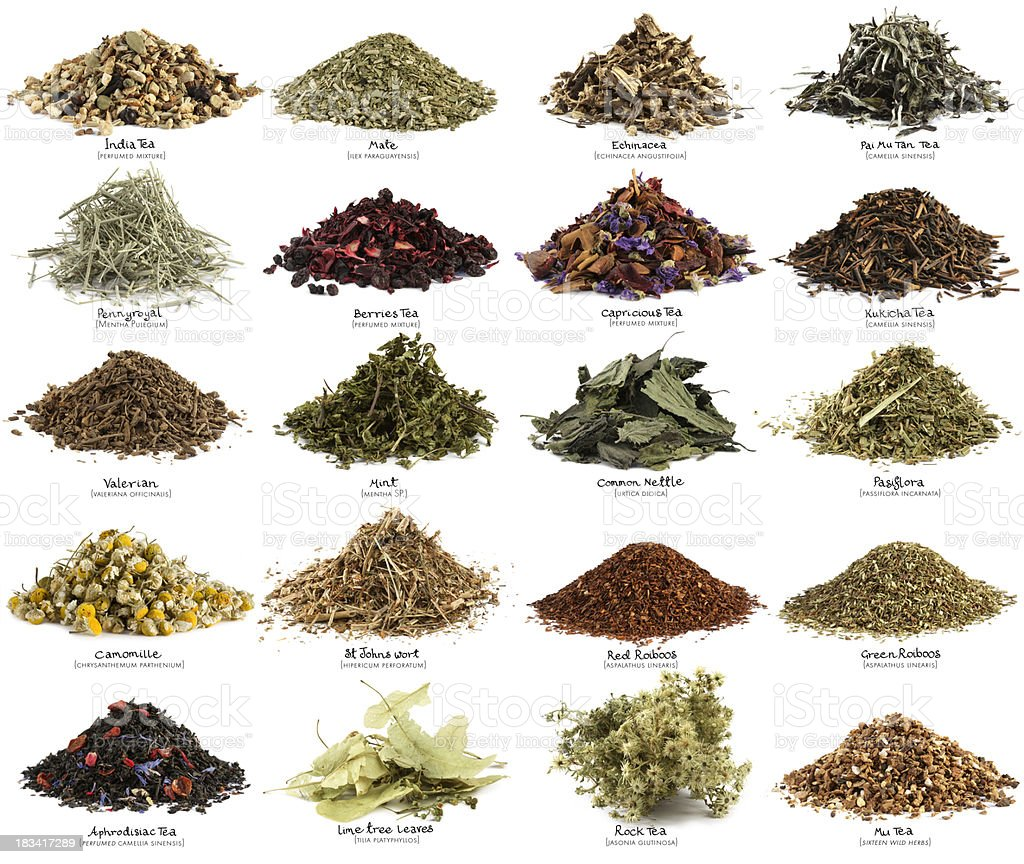 Healthy infusions stock photo