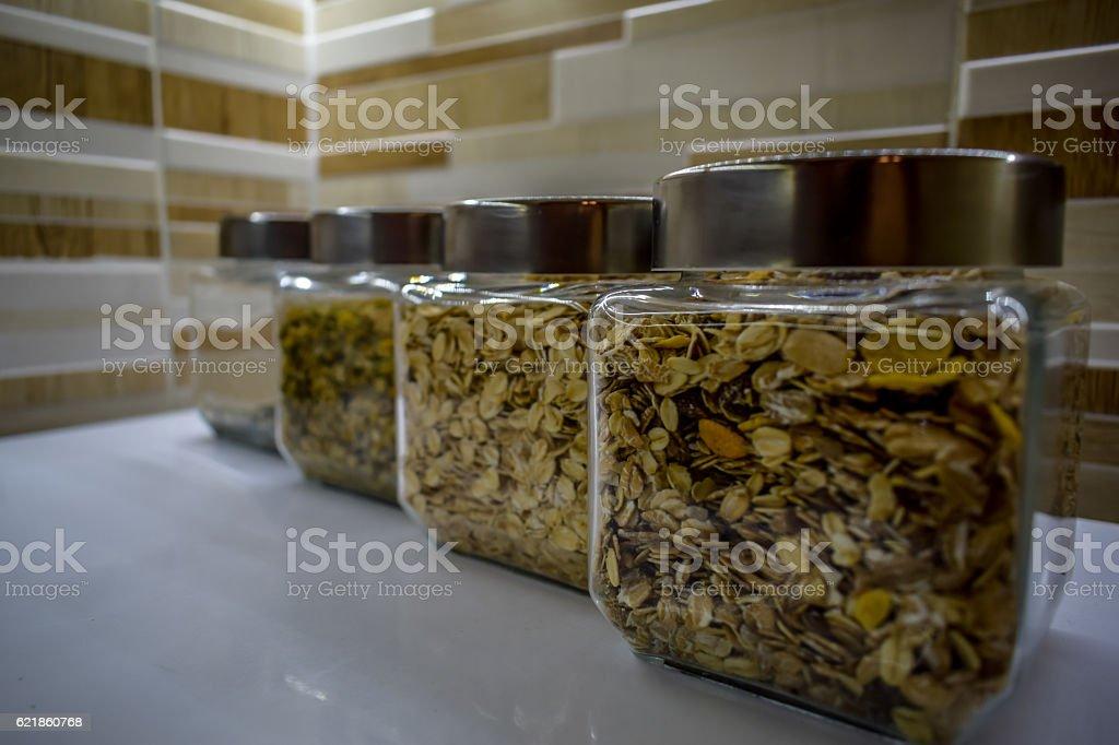 Healthy jars royalty-free stock photo