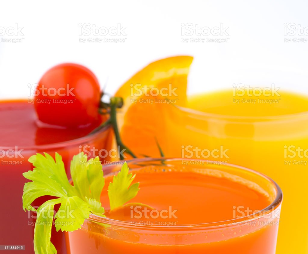 Healthy juice royalty-free stock photo