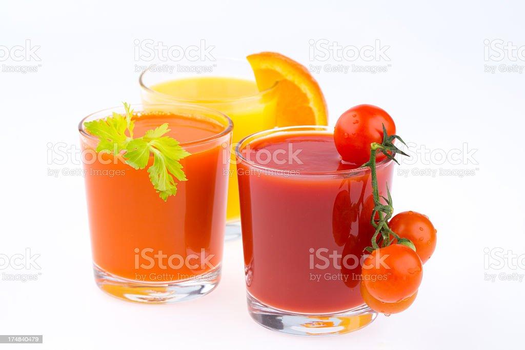 Healthy juice royalty-free stock photo