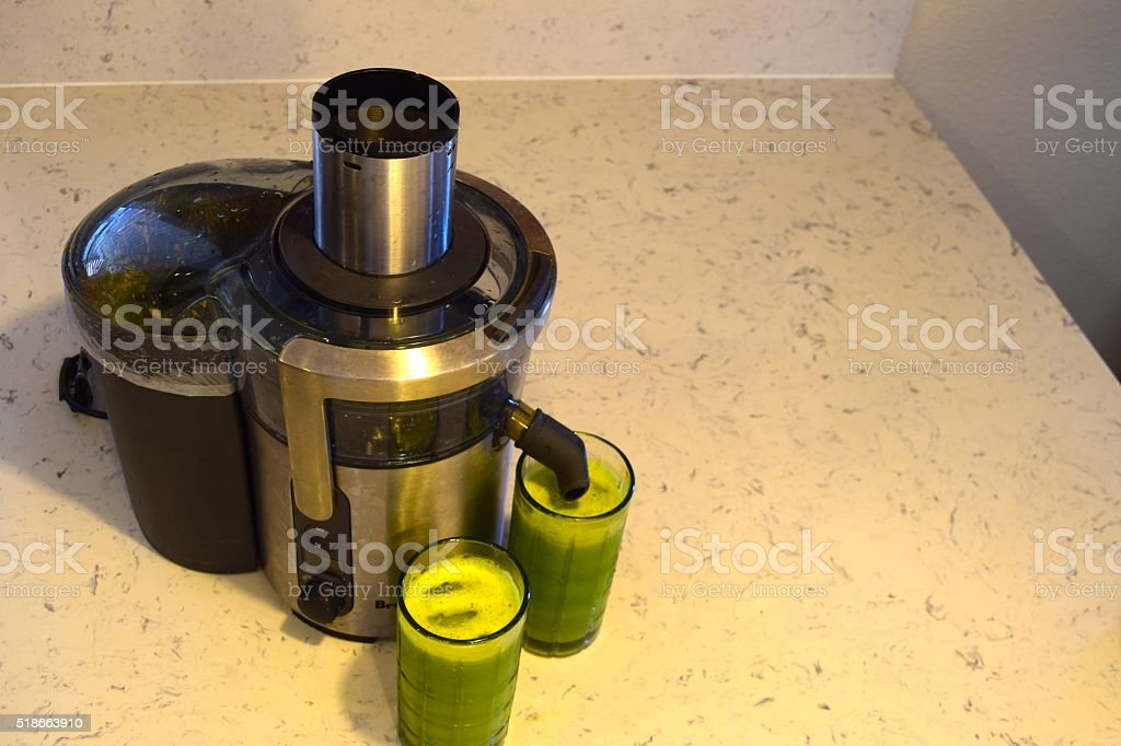 Healthy Juicing stock photo