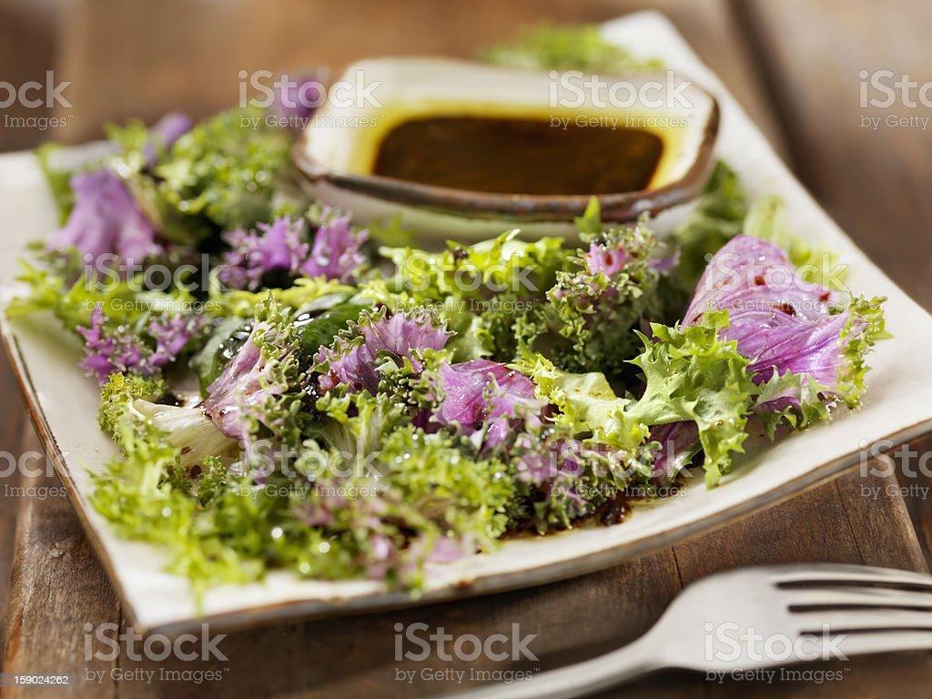 Healthy Kale Salad stock photo
