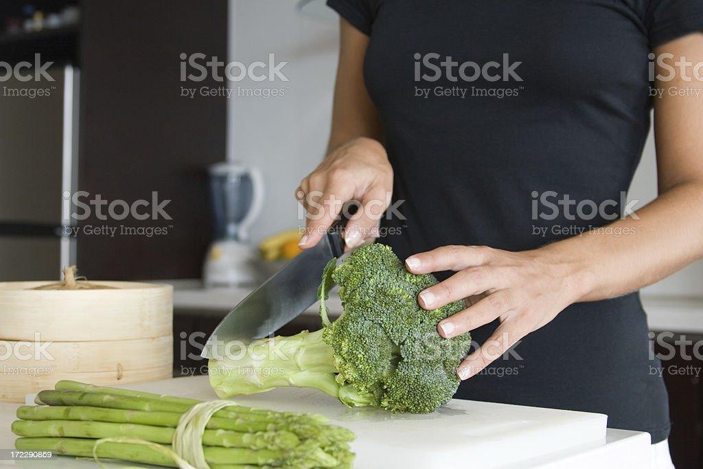 Healthy kitchen stock photo