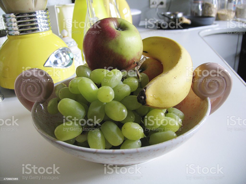 Healthy kitchen view royalty-free stock photo