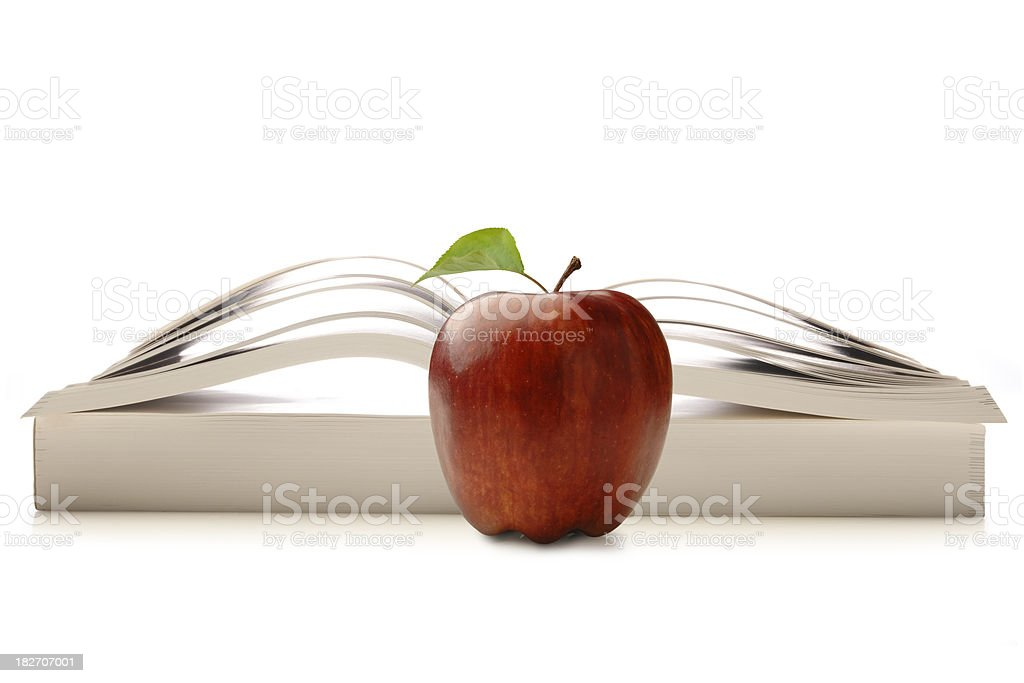 Healthy Learning royalty-free stock photo