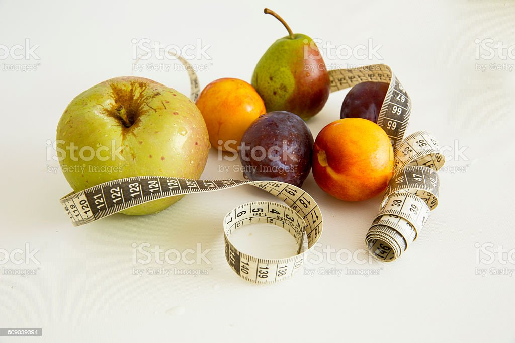 Healthy lifestile-getting fit. stock photo