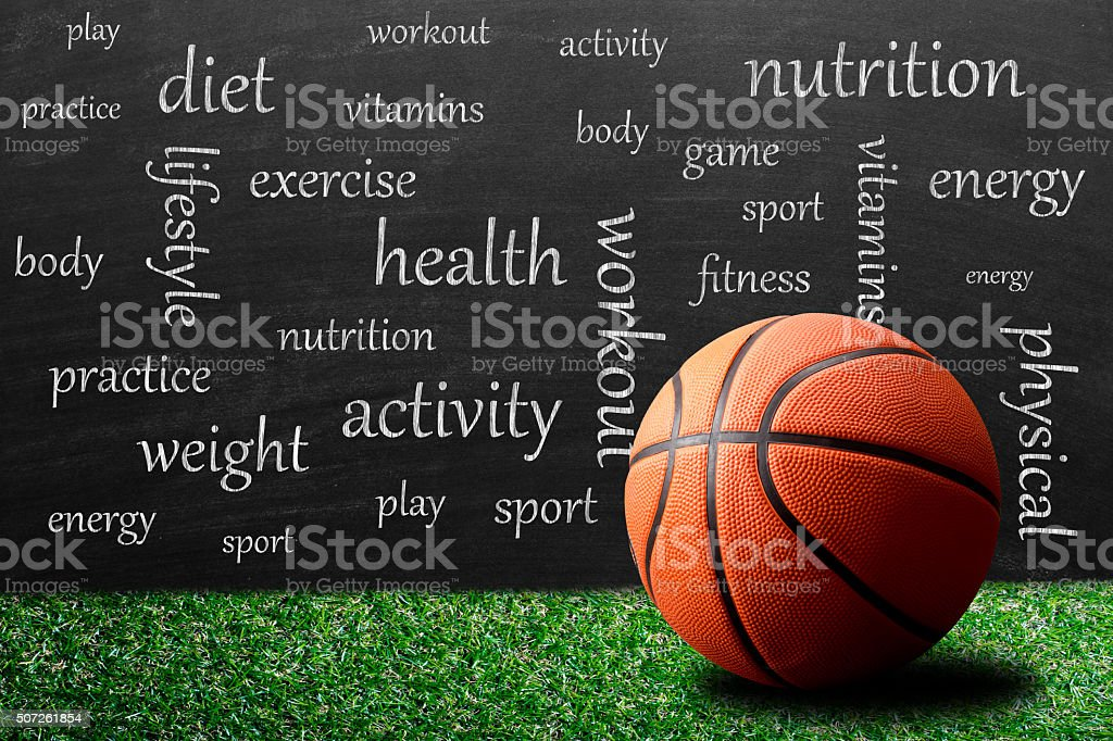 Healthy lifestyle and education stock photo