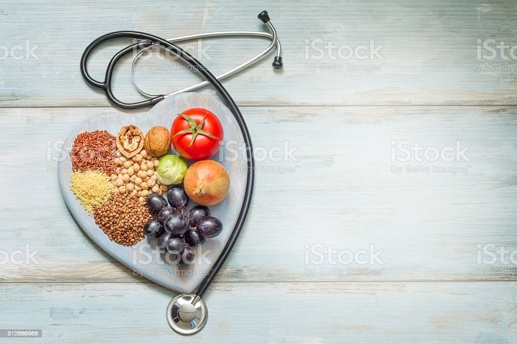 Healthy lifestyle and healthcare concept stock photo