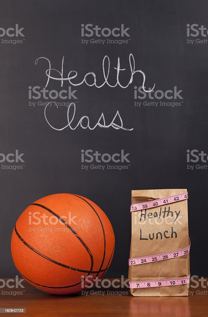 Healthy Lifestyle Education royalty-free stock photo
