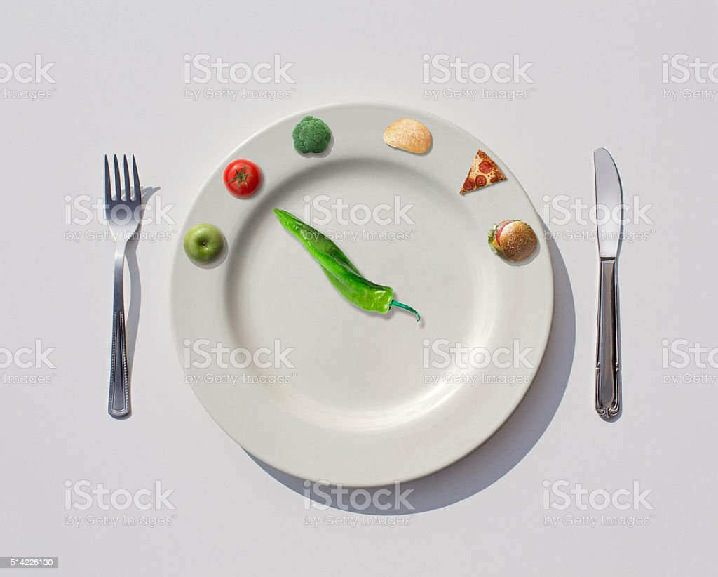 Healthy Light Foods stock photo