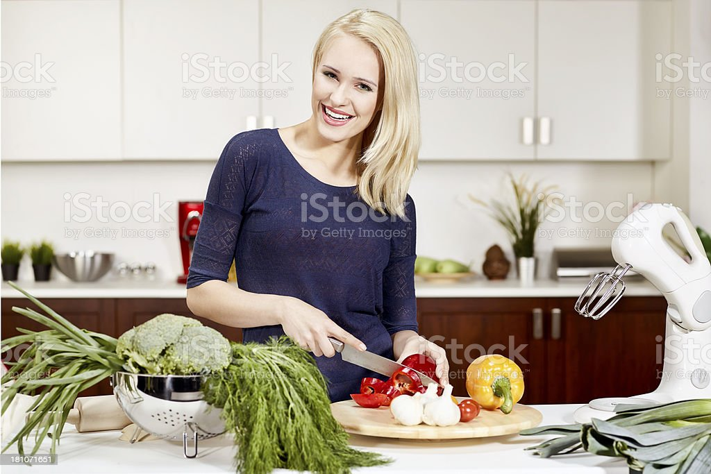 Healthy living is fun royalty-free stock photo