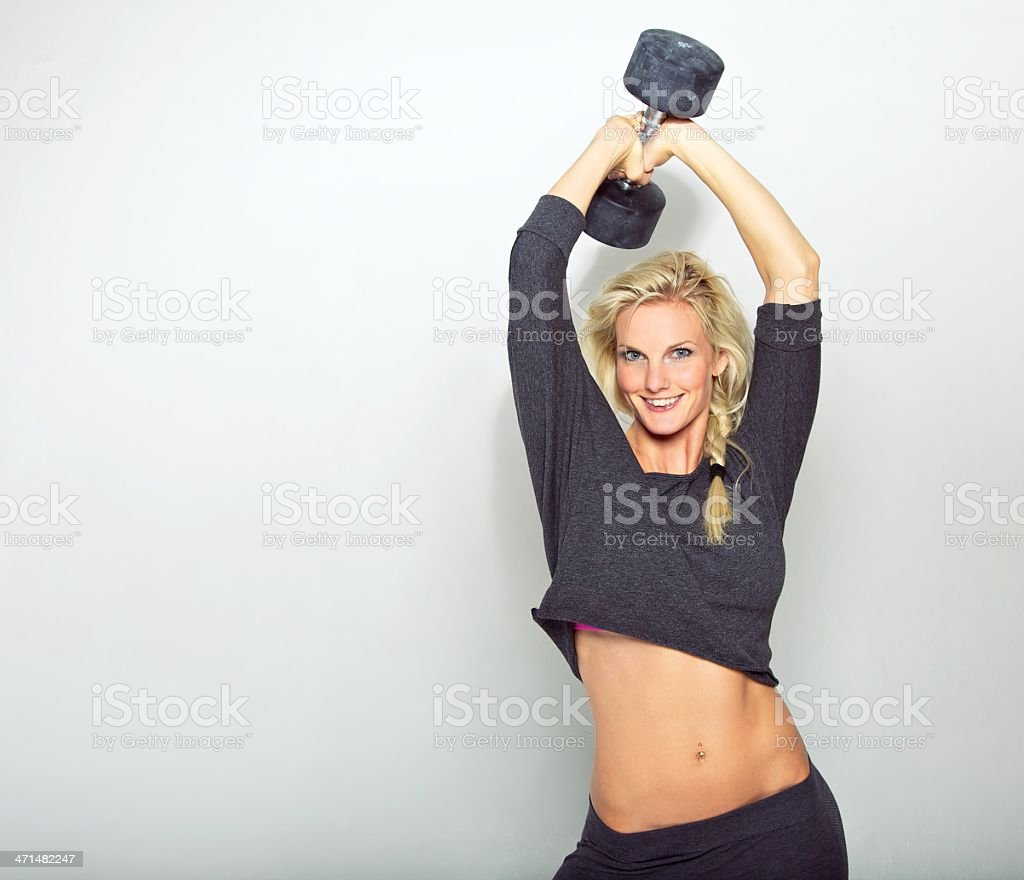 Healthy Living is Fun stock photo