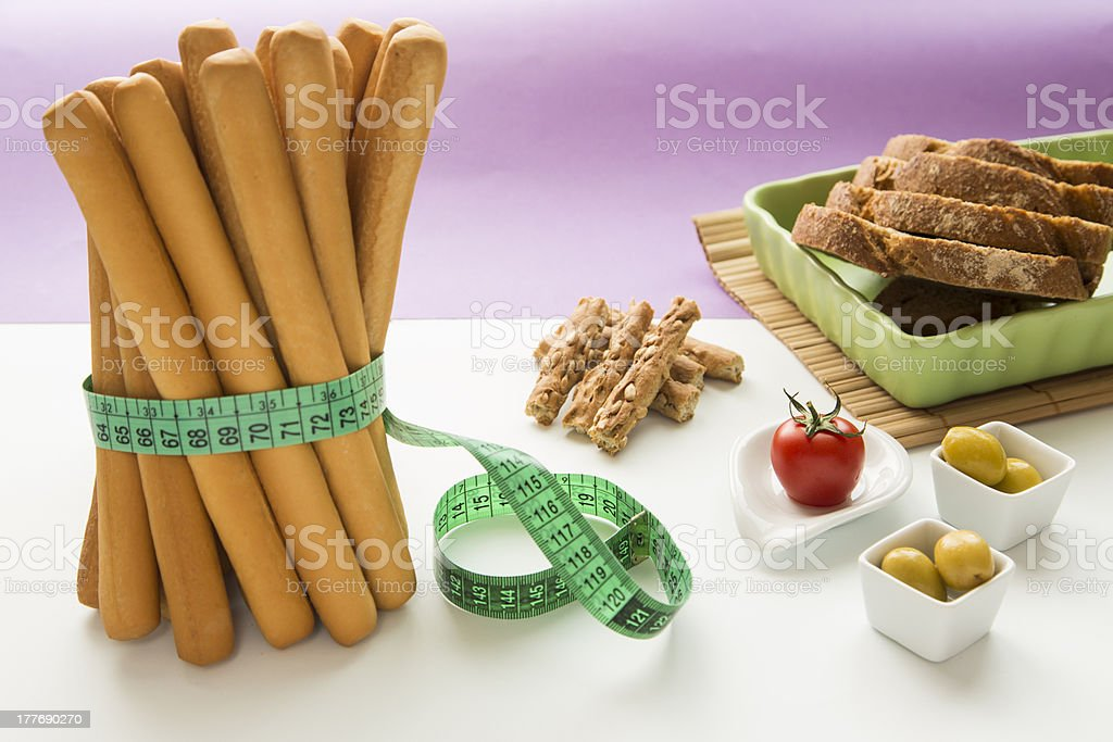 Healthy Living (Diet Concept) royalty-free stock photo