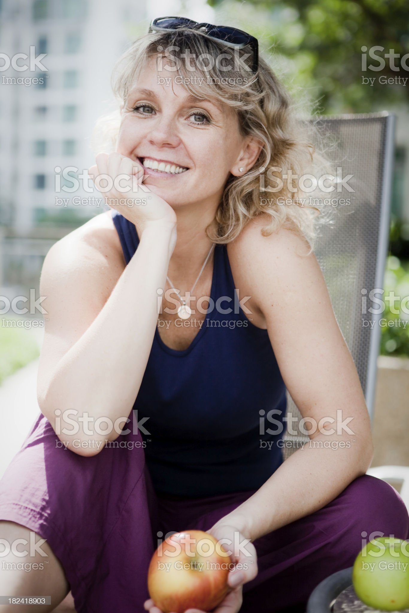 Healthy living royalty-free stock photo