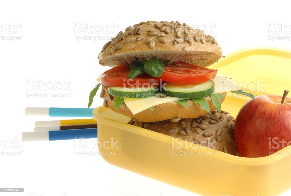 Healthy Lunch Box royalty-free stock photo