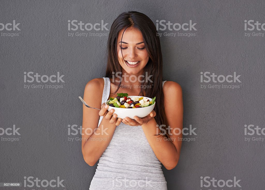 Healthy meals don't need to be boring stock photo