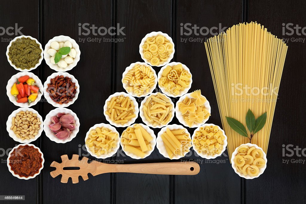 Healthy Mediterranean Food stock photo