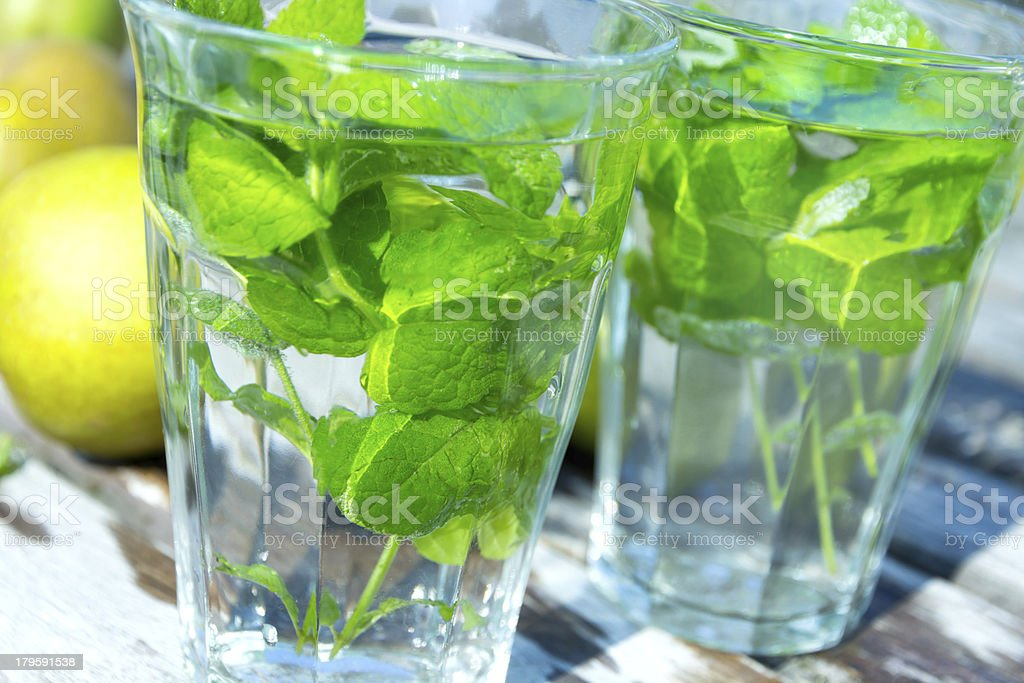 Healthy Mint tea royalty-free stock photo